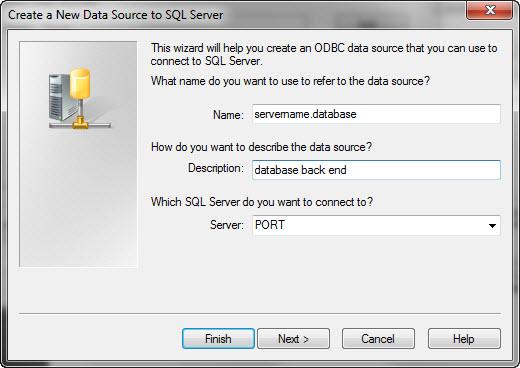 Establishing Connectivity: SQL Server ODBC Connections