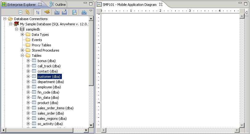 Creating Database Mobile Business Objects