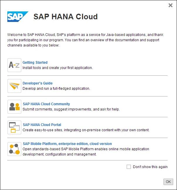 Connecting to SAP Mobile Platform, enterprise edition, cloud